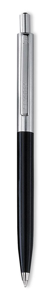 Ручка шариковая Senator Point Metal, черная