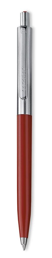 Ручка шариковая Senator Point Metal, красная