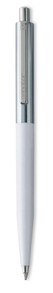 Ручка шариковая Senator Point Metal, белая