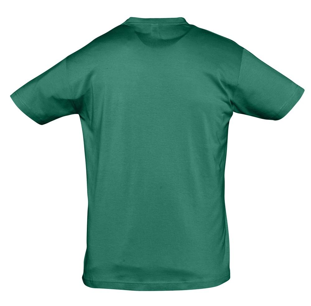 Футболка Regent 150, зеленая (изумрудная)