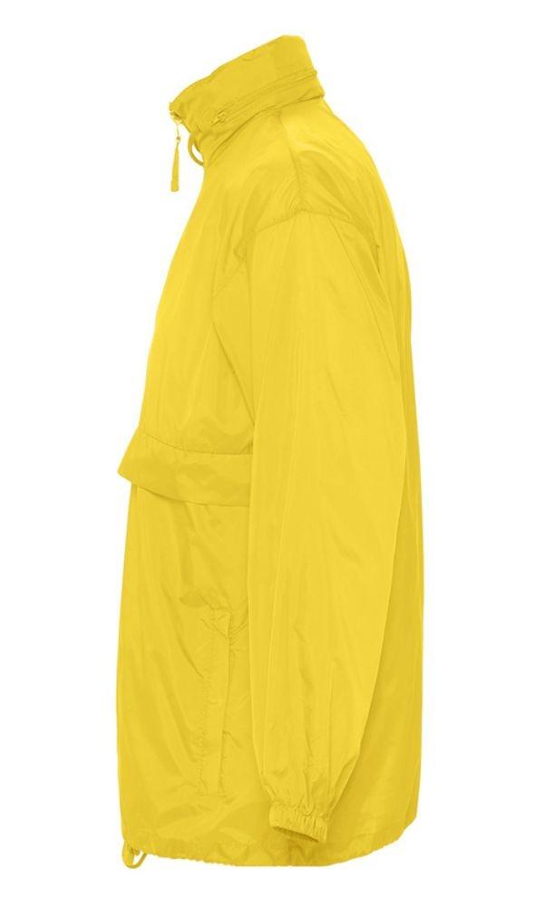 Ветровка из нейлона SURF 210, желтая