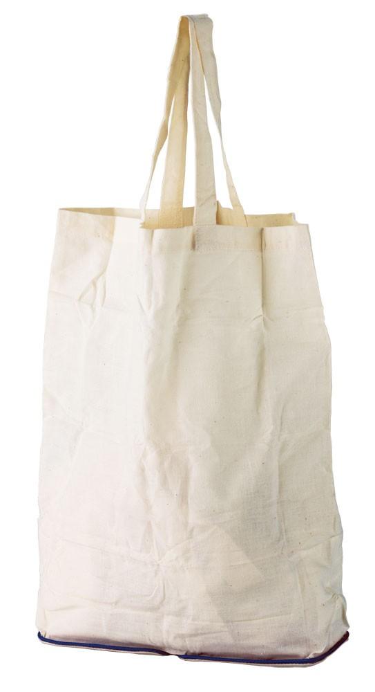 Складная холщовая сумка