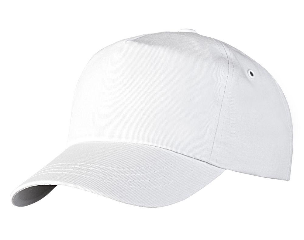 Бейсболка Unit Promo, белая