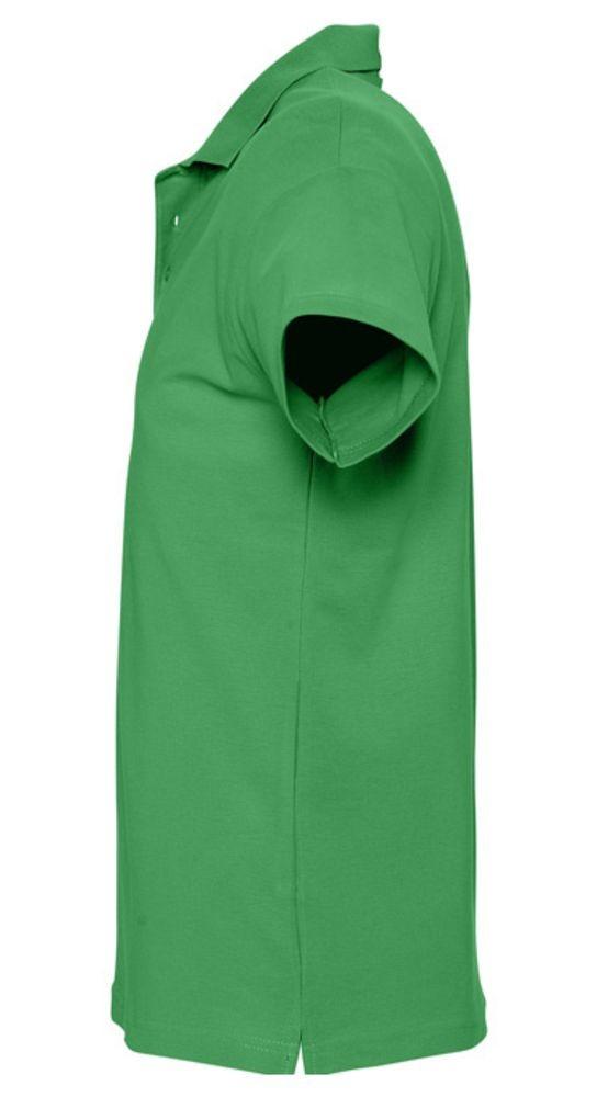 Рубашка поло мужская SPRING 210, ярко-зеленая