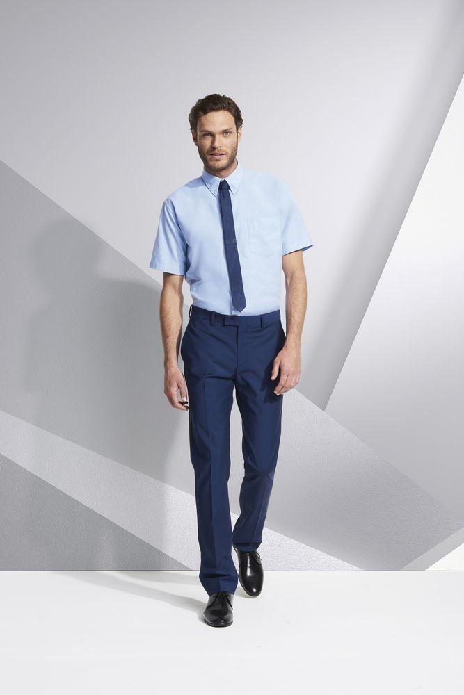 Рубашка мужская с коротким рукавом BRISBANE, белая