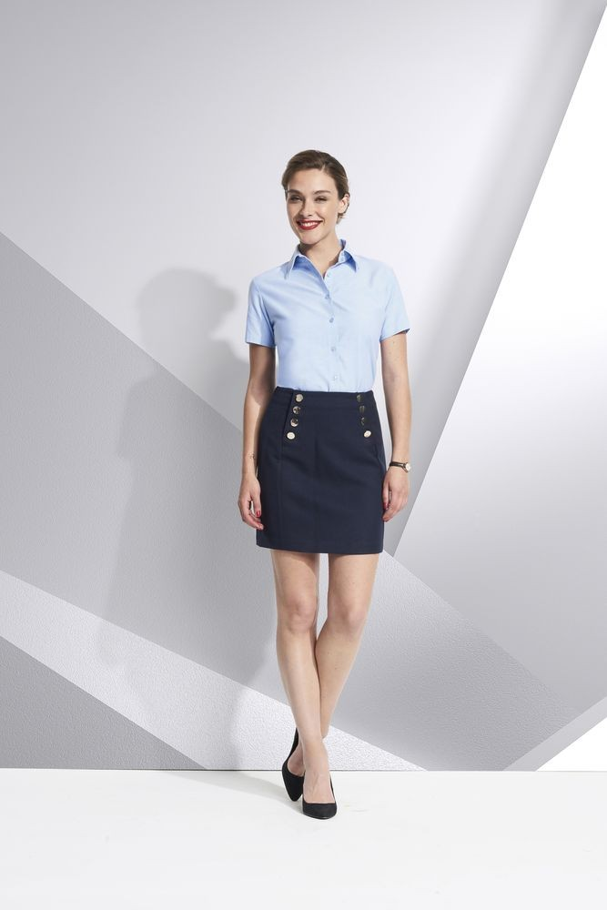 Рубашка женская с коротким рукавом ELITE, белая