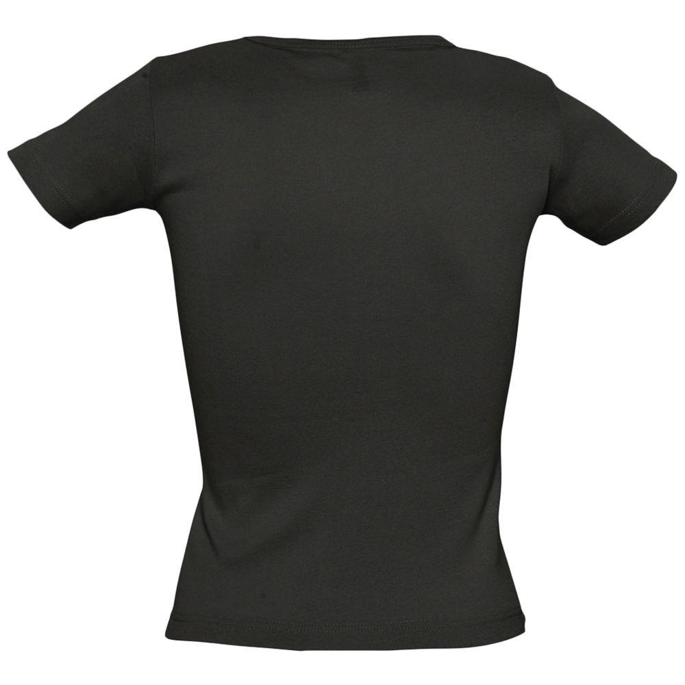Футболка женская с круглым вырезом LADY 220 черная