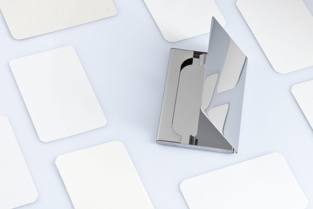 Футляр для визиток Steel