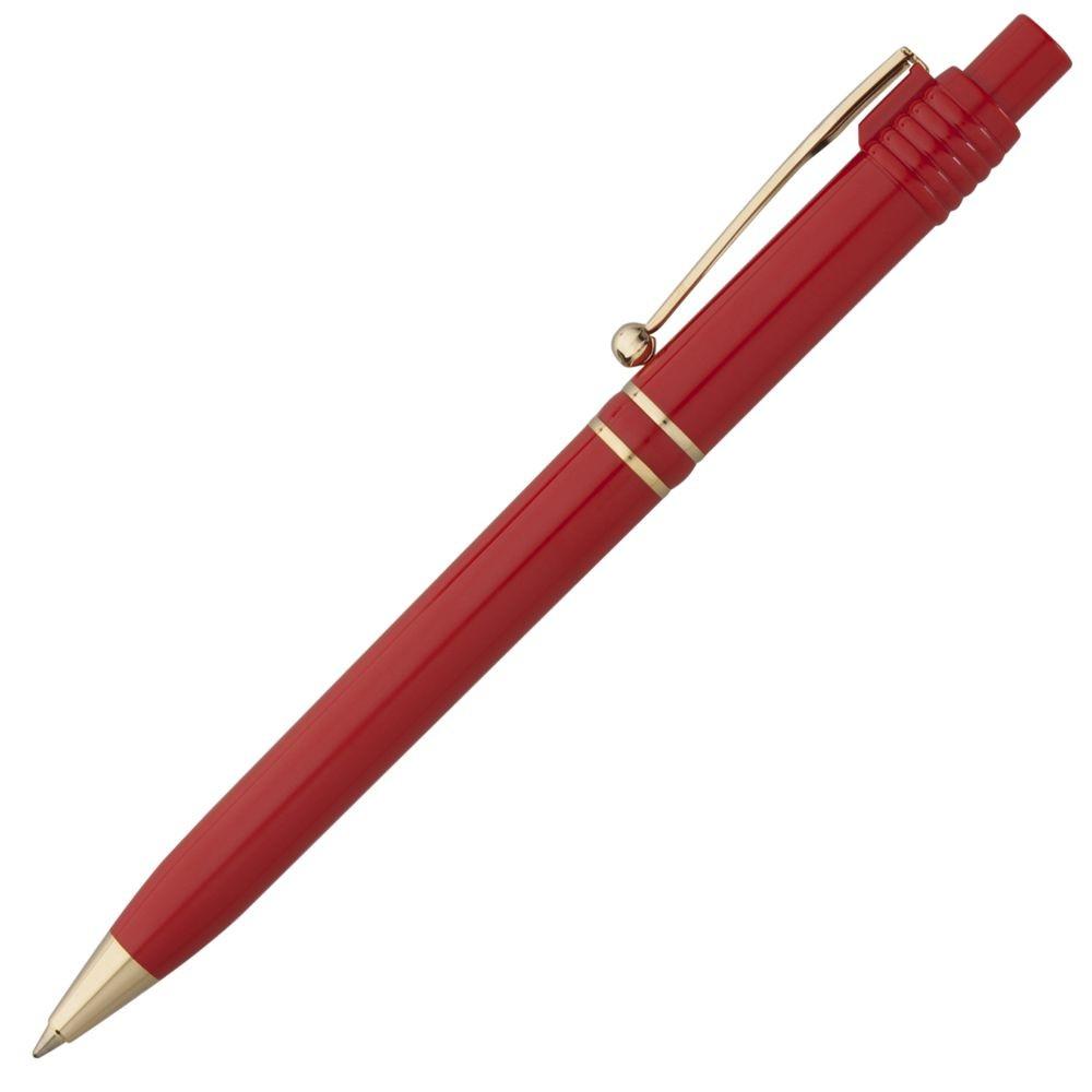 Ручка шариковая Raja Gold, красная