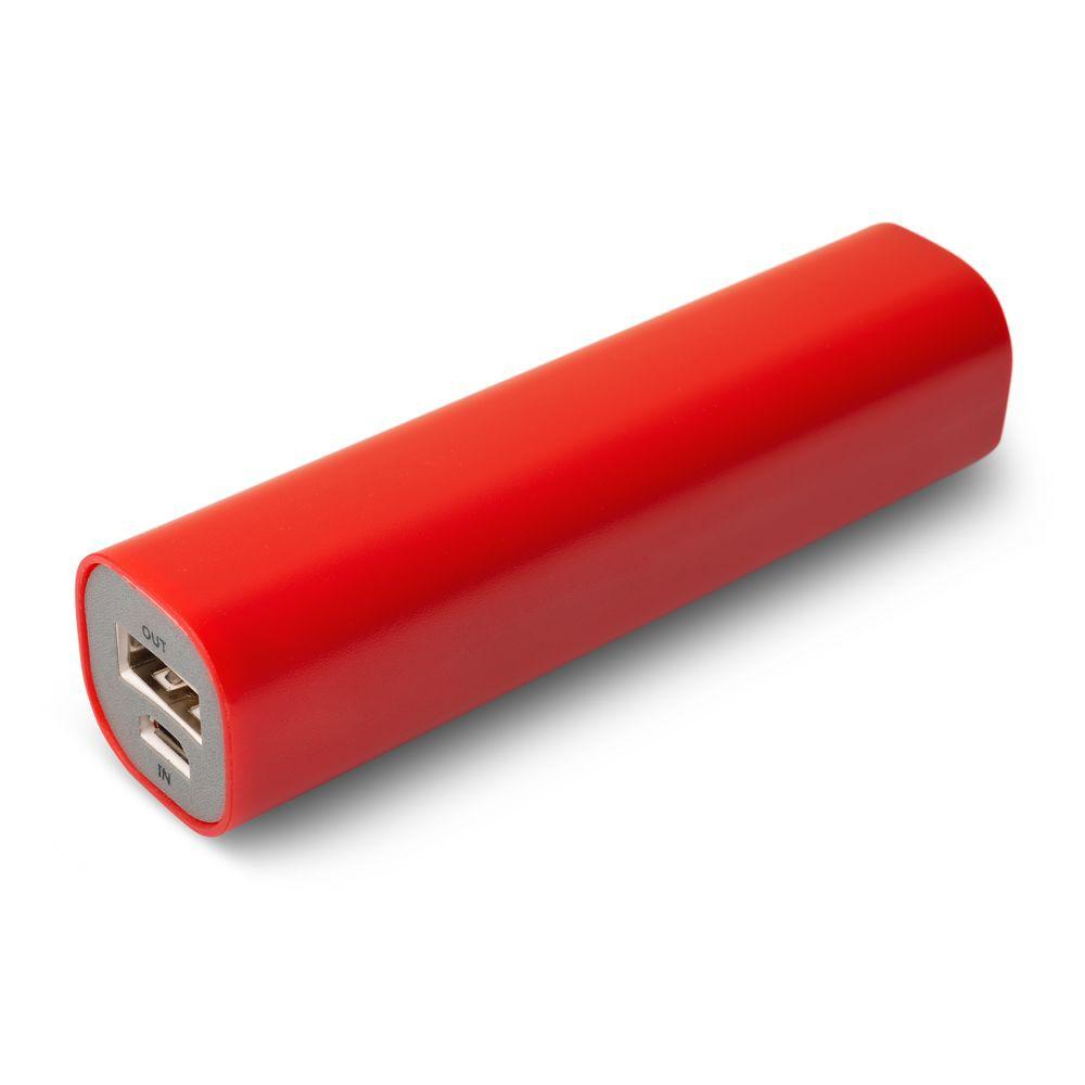 Внешний аккумулятор Easy Shape 2000 мАч, красный
