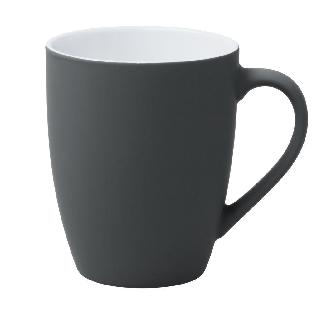 Кружка Good Morning с покрытием софт-тач, серая