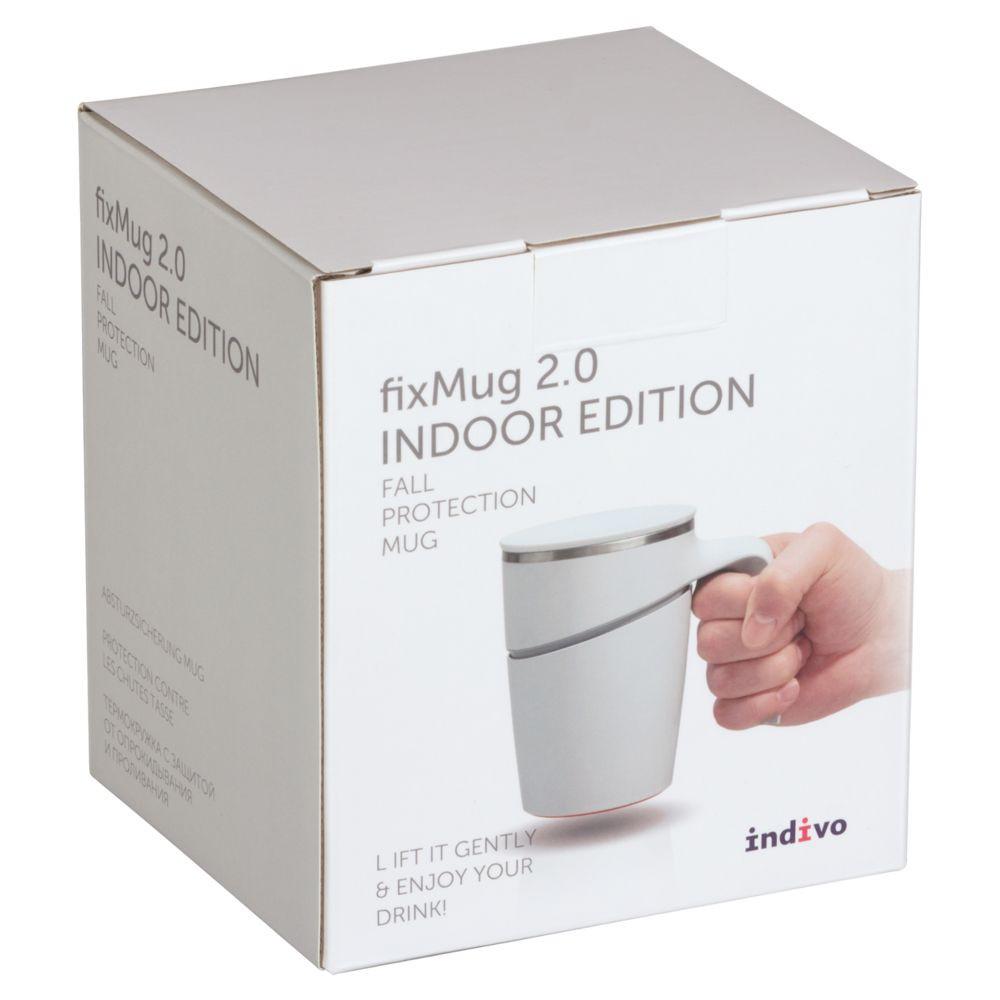 Термокружка fixMug 2.0, белая