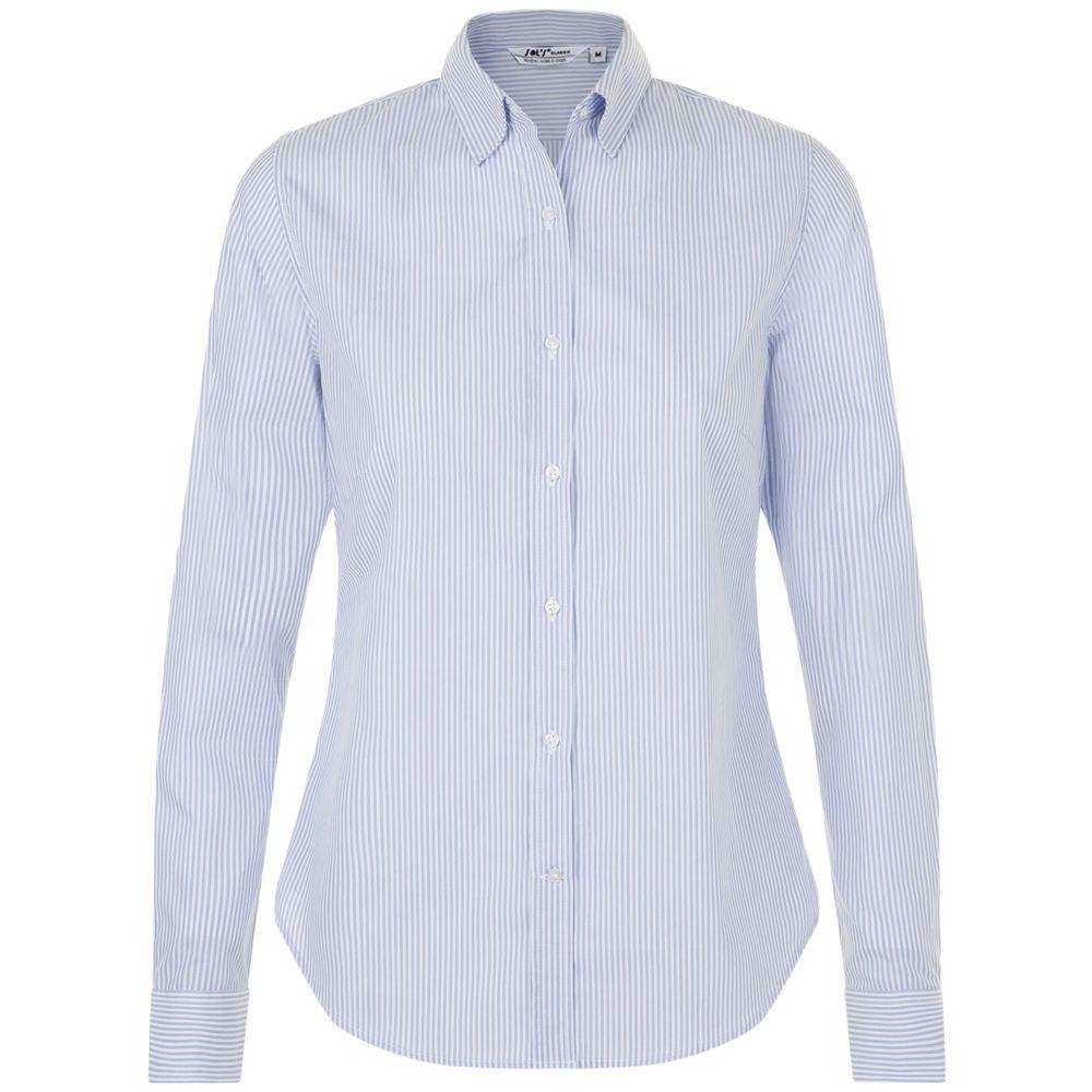 Рубашка женская BEVERLY WOMEN, белая с синим
