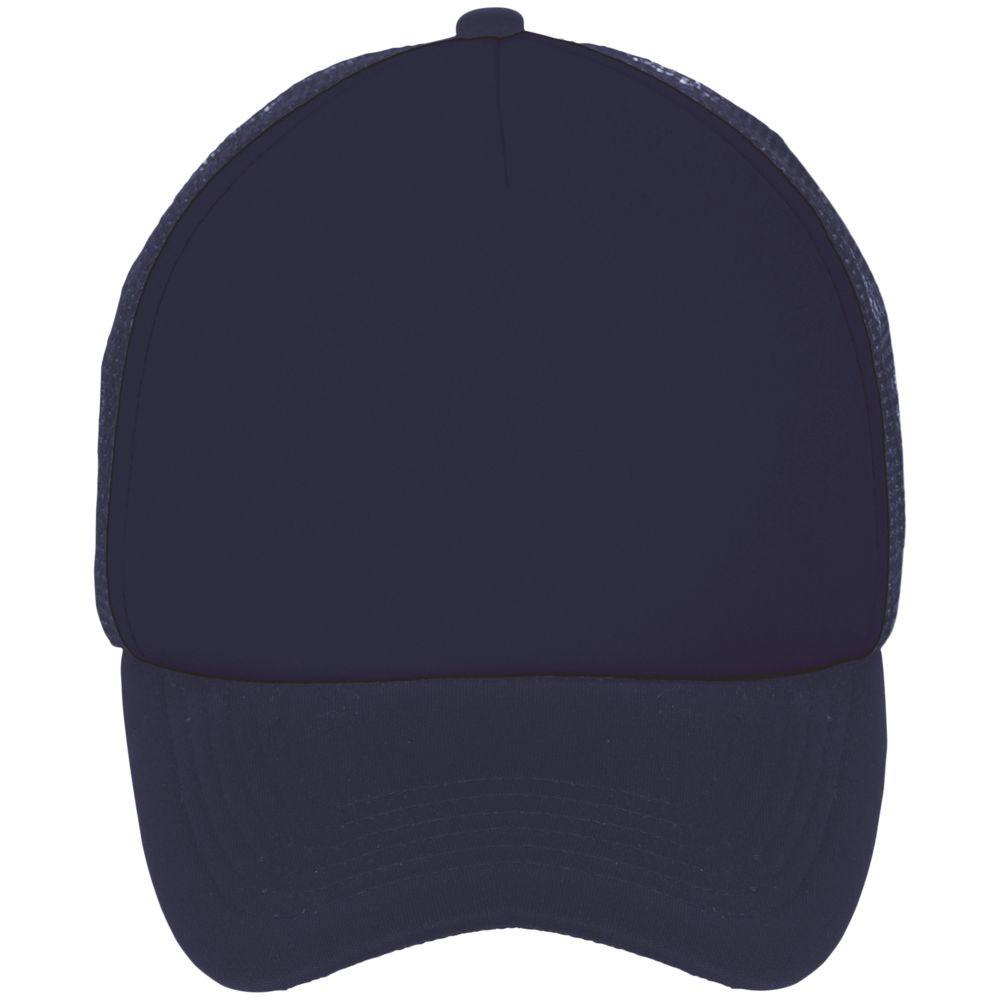 Бейсболка BUBBLE, темно-синяя