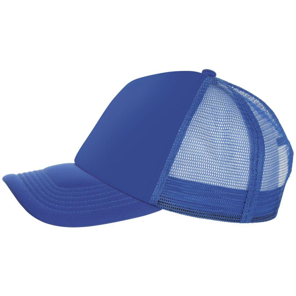 Бейсболка BUBBLE, ярко-синяя