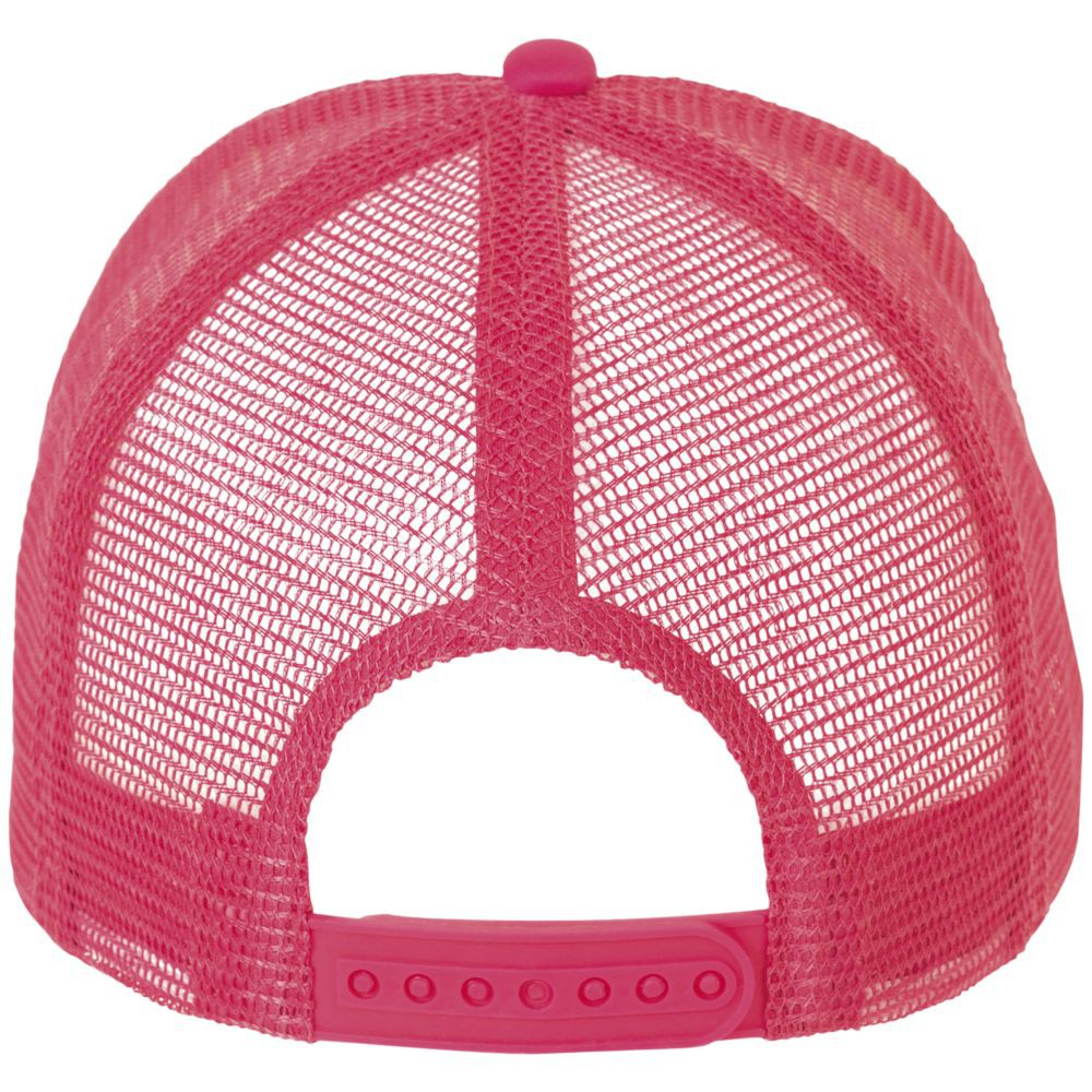 Бейсболка BUBBLE, розовый неон с белым