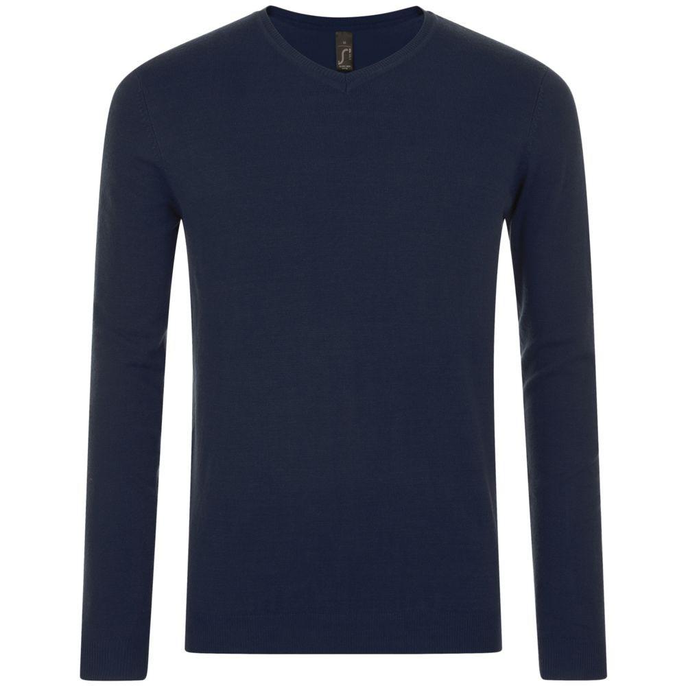 Пуловер мужской GLORY MEN, темно-синий