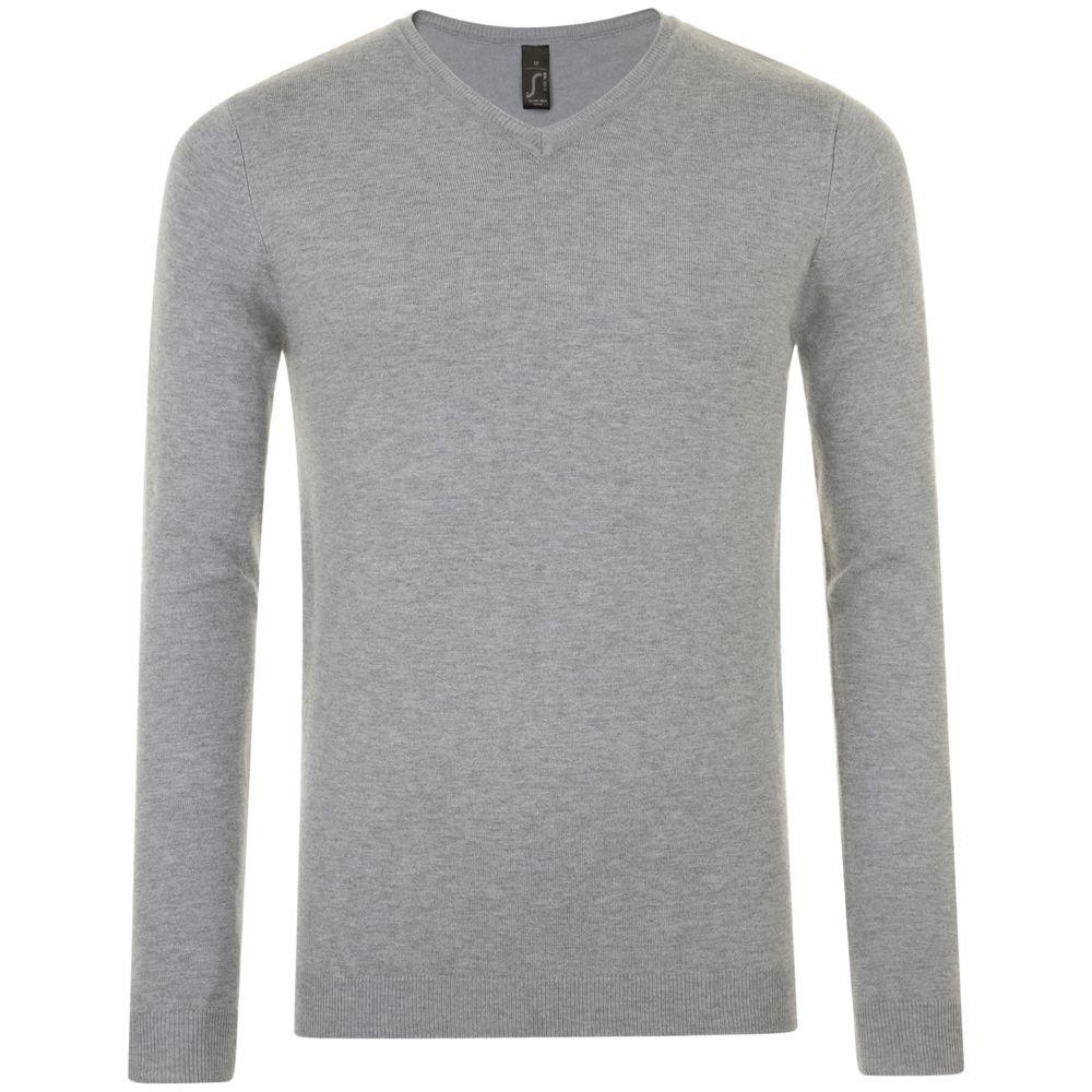 Пуловер мужской GLORY MEN, серый меланж