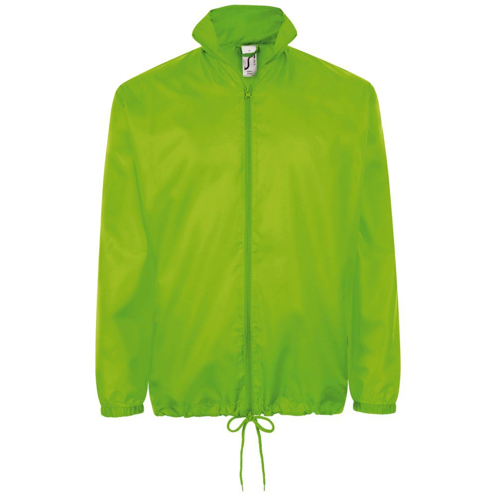 Ветровка унисекс SHIFT, зеленое яблоко