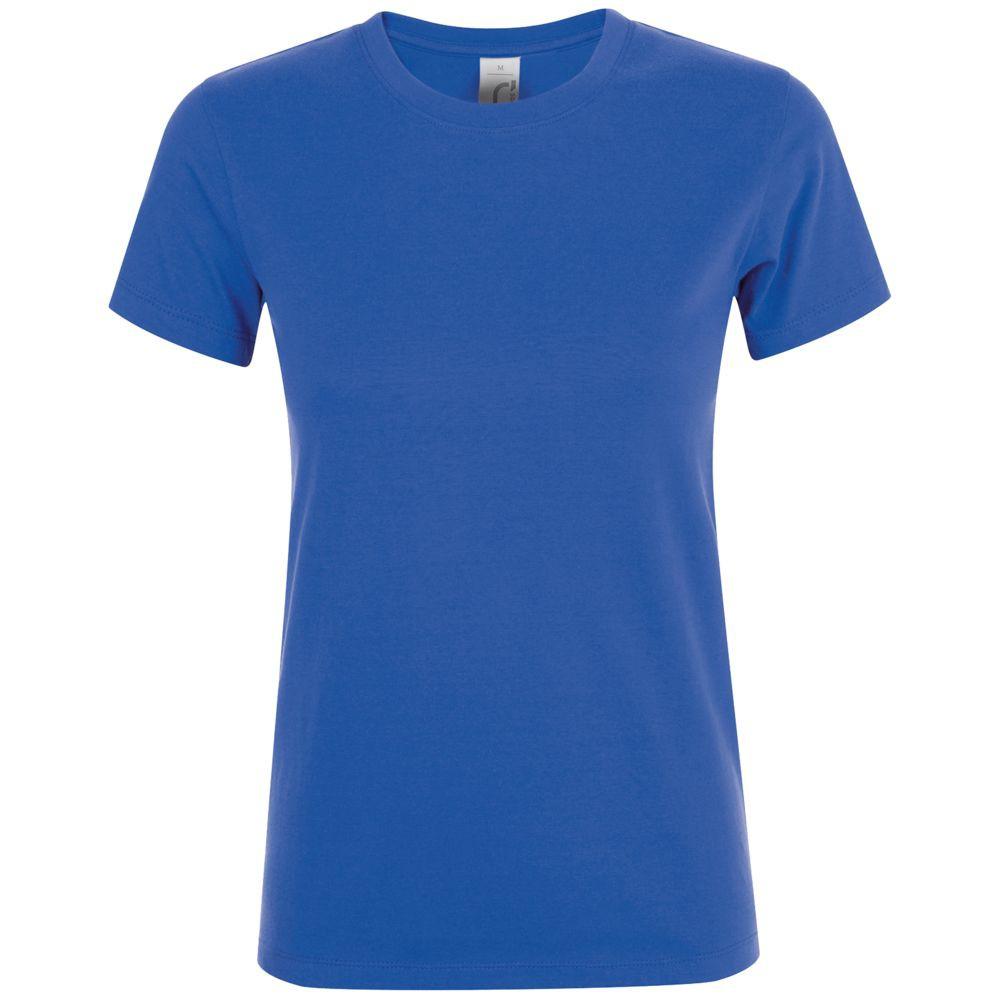 Футболка женская REGENT WOMEN, ярко-синяя (royal)