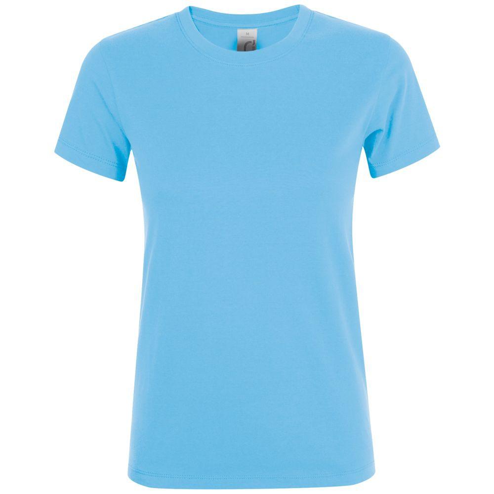 Футболка женская REGENT WOMEN, голубая