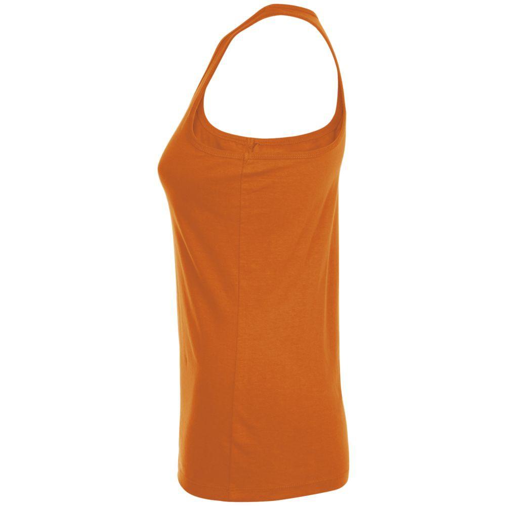 Майка женская JUSTIN WOMEN, оранжевая