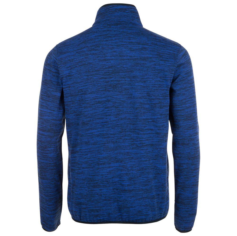 Куртка флисовая TURBO, синяя с темно-синим