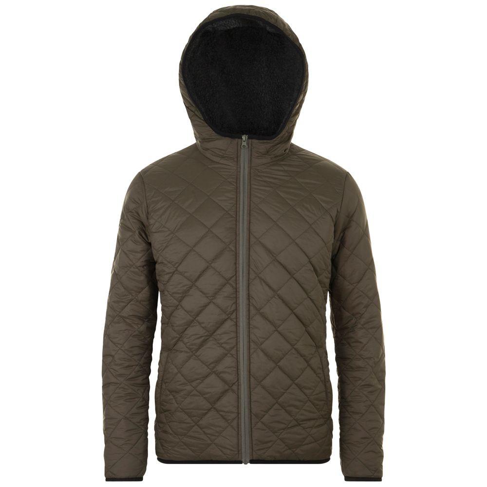 Куртка унисекс ROVER, коричневая