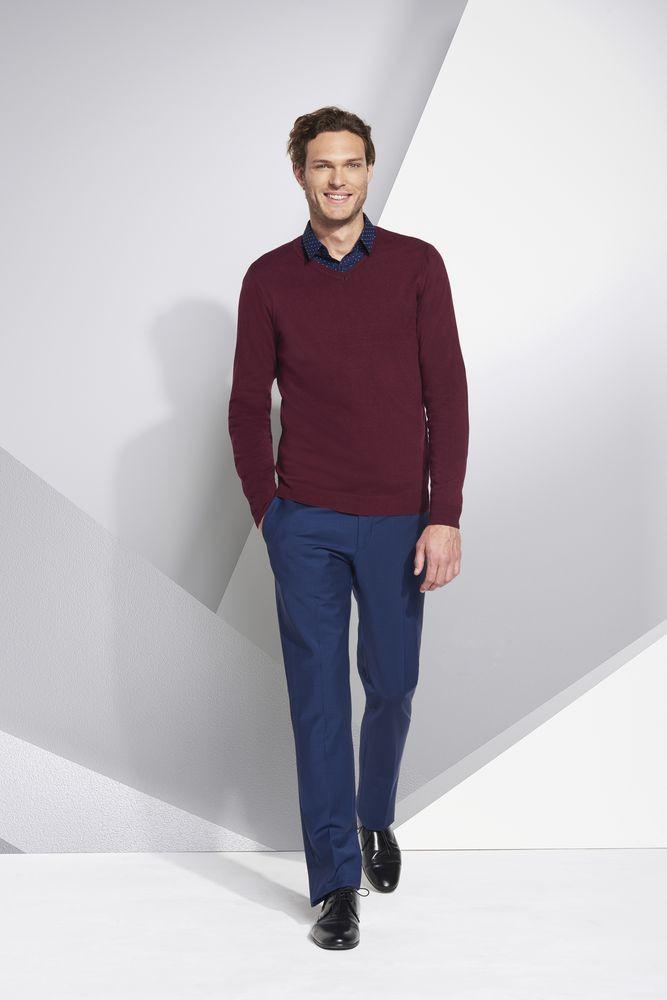 Пуловер мужской GLORY MEN, синий ультрамарин