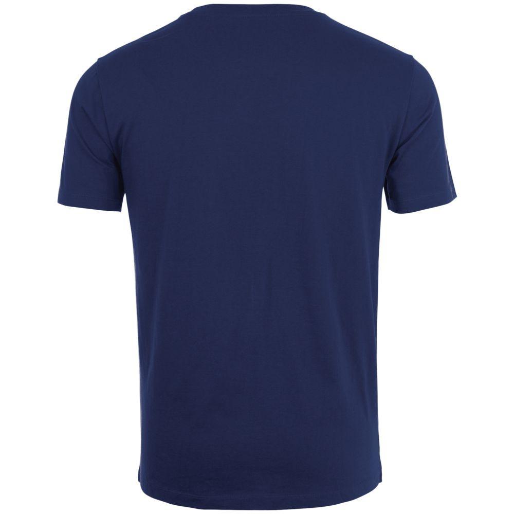 Футболка мужская MARVIN, темно-синяя