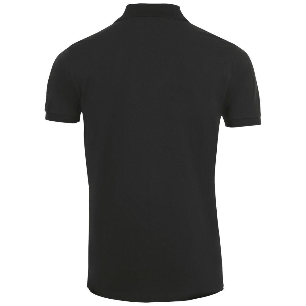 Рубашка поло мужская PHOENIX MEN, черная