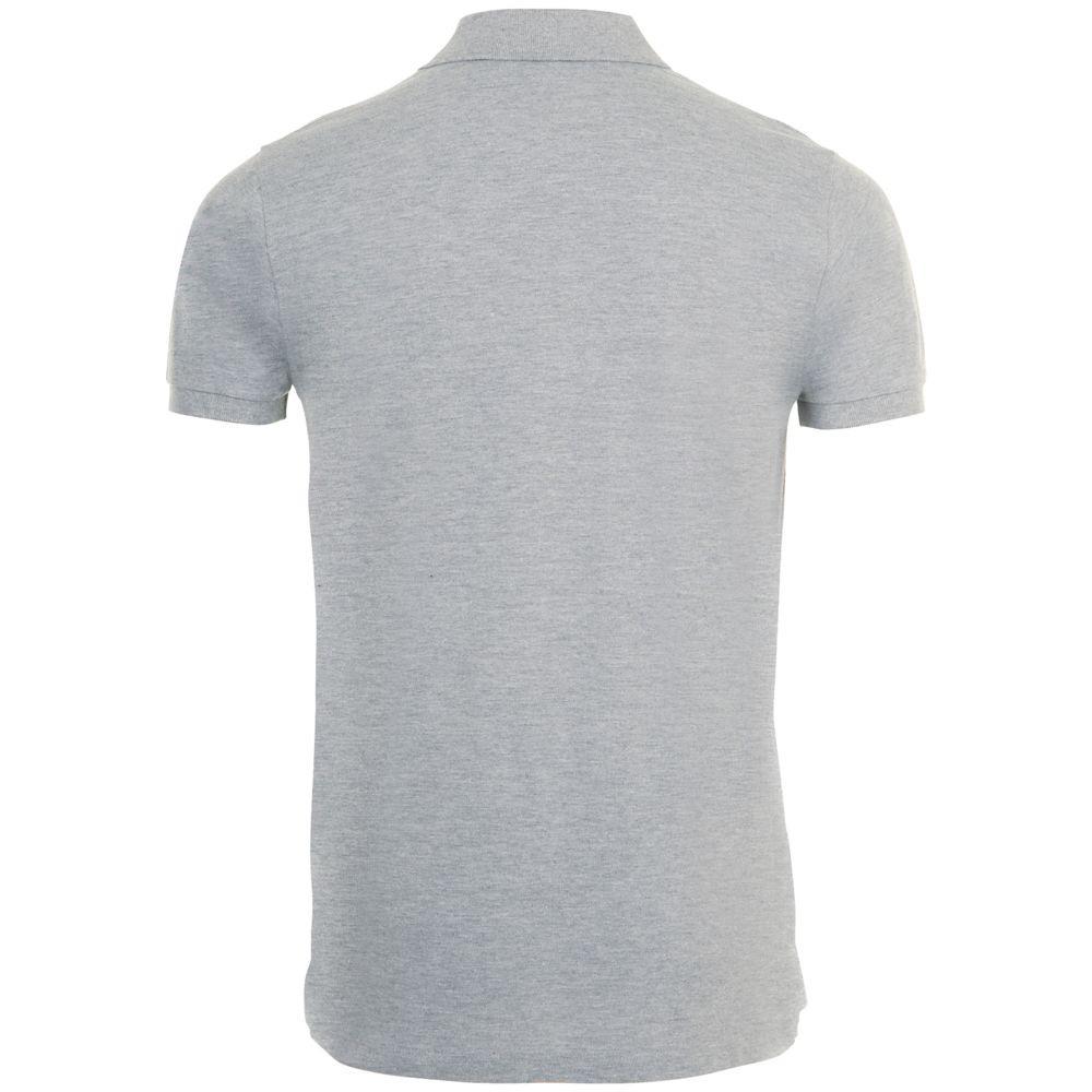 Рубашка поло мужская PHOENIX MEN, серый меланж