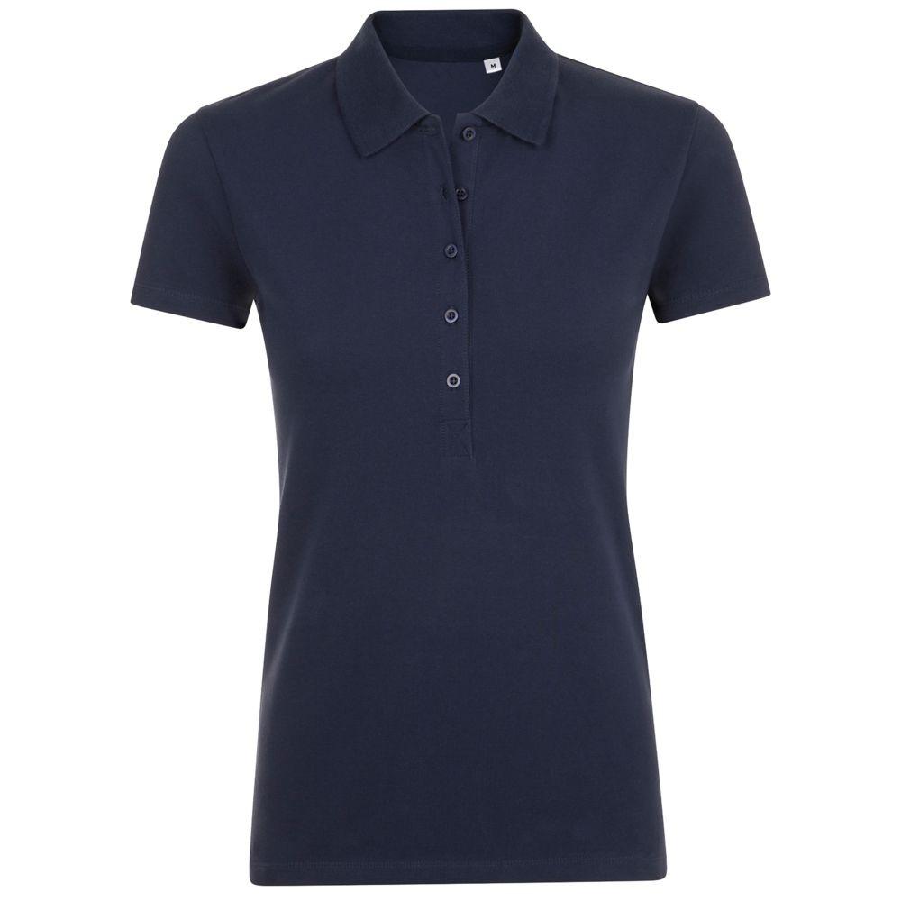 Рубашка поло женская PHOENIX WOMEN, темно-синяя