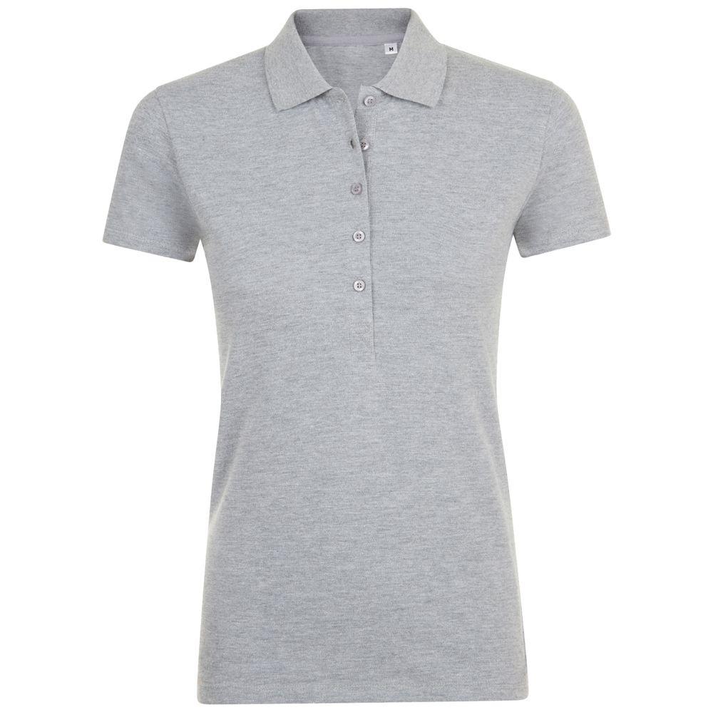 Рубашка поло женская PHOENIX WOMEN, серый меланж