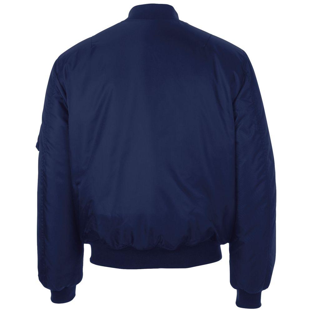 Куртка бомбер унисекс REMINGTON, темно-синяя