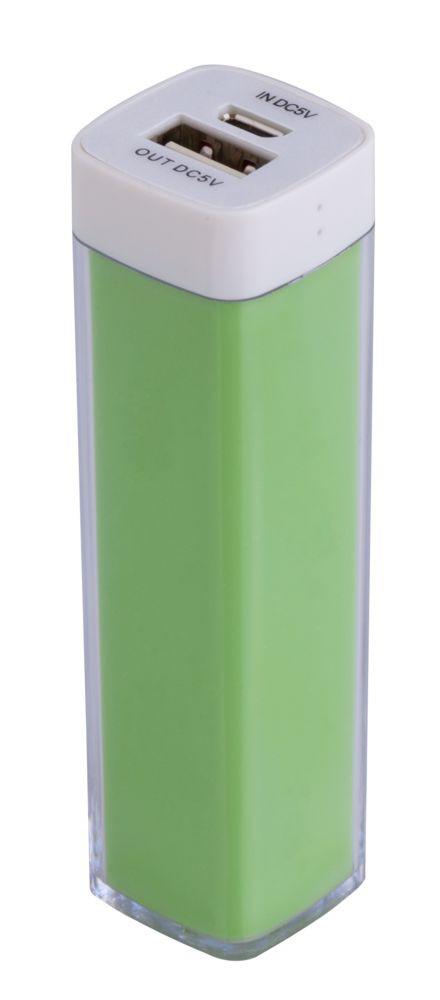Внешний аккумулятор Bar, 2200 мАч, ver.2, зеленый