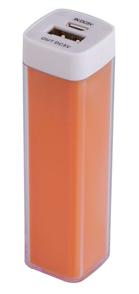 Внешний аккумулятор Bar, 2200 мАч, ver.2, оранжевый