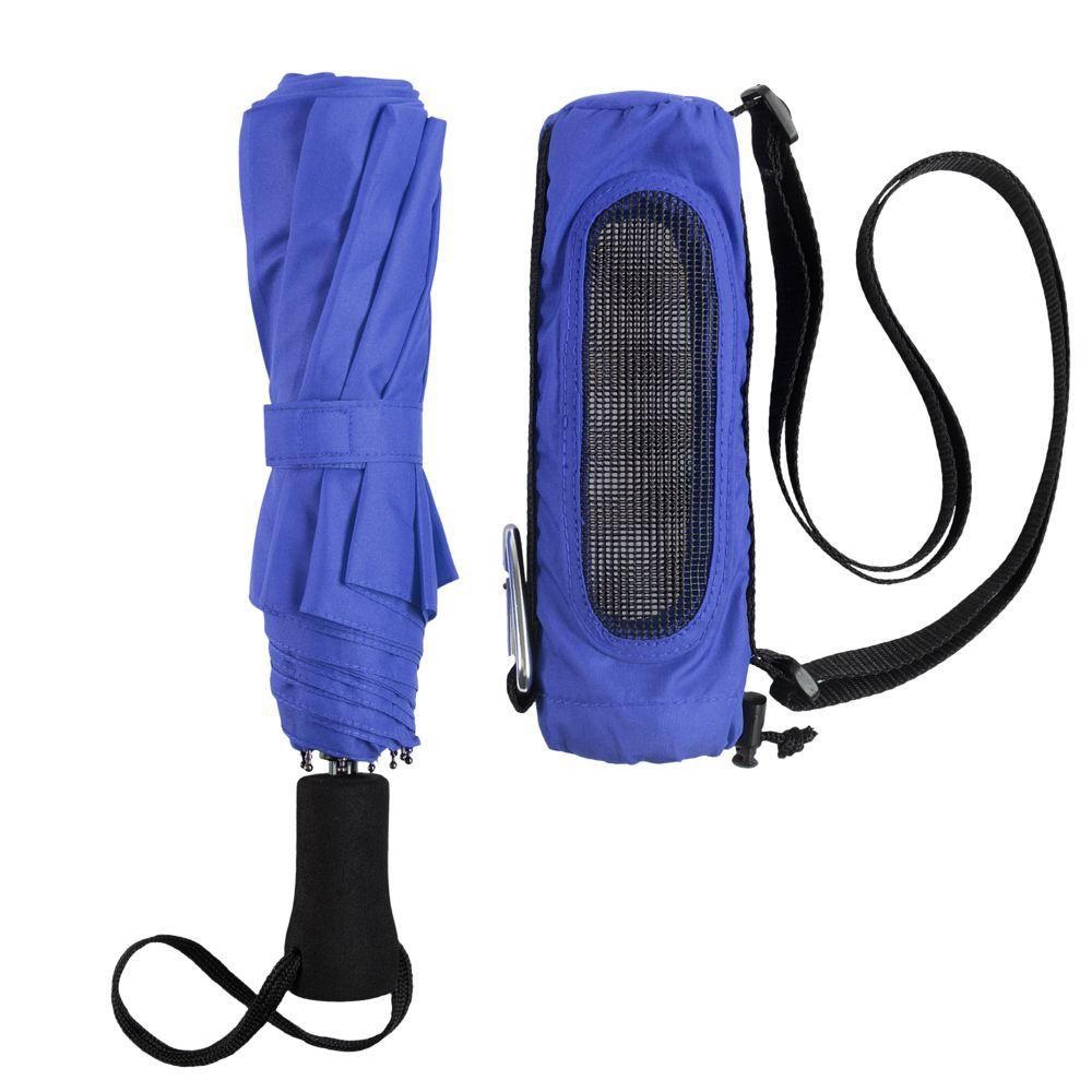 Складной зонт Hogg Trek, синий