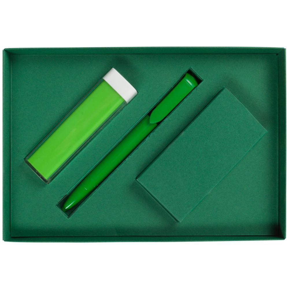 Набор Energy: аккумулятор и ручка, зеленый