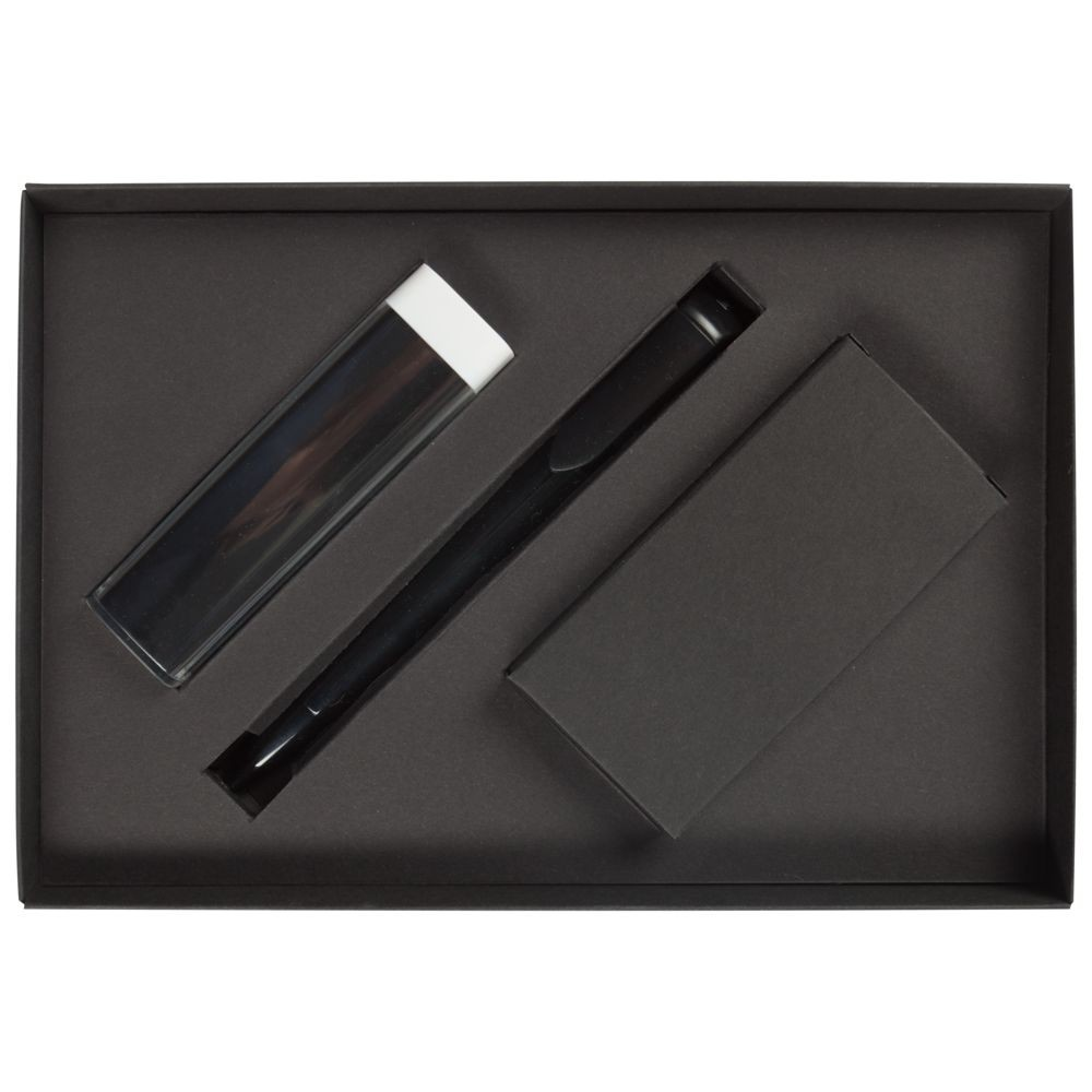 Набор Energy: аккумулятор и ручка, черный