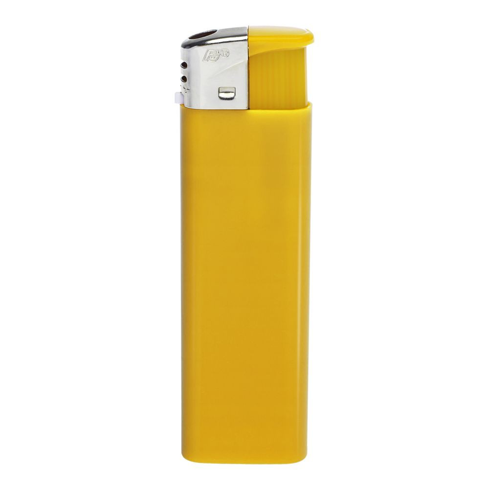 Зажигалка пьезо FLAMECLUB, одноразовая, желтая