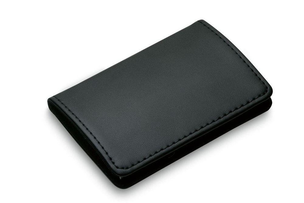 Футляр для визитных карт Gianni, черный