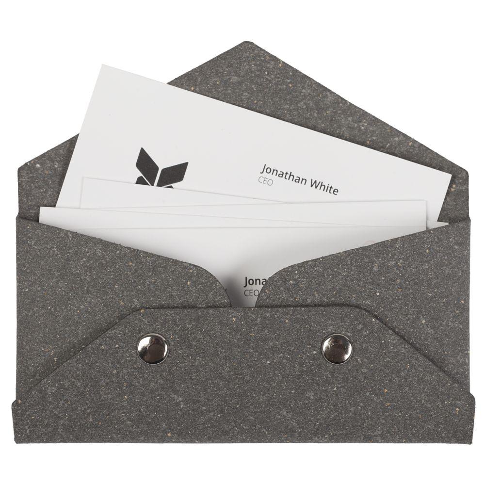 Футляр для визиток Salamander, серый