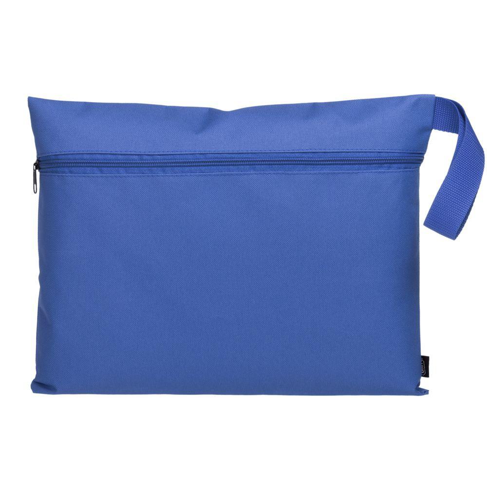 Конференц-сумка Unit Saver, ярко-синяя