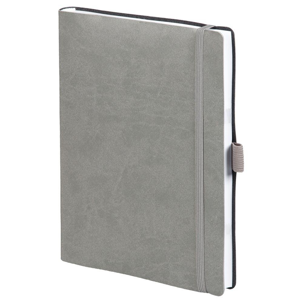 Ежедневник Flex Brand, датированный, серый