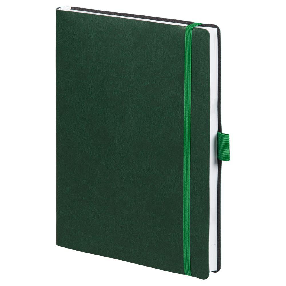 Ежедневник Flex Brand, недатированный, зеленый