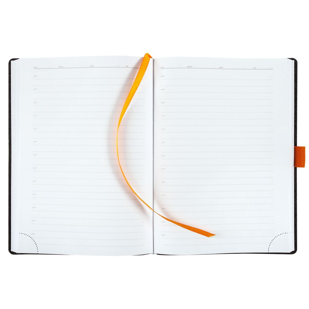 Ежедневник Flex Brand, недатированный, оранжевый