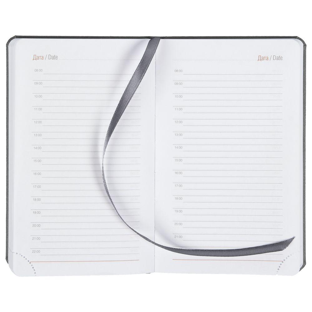 Ежедневник Basis mini, недатированный, серый