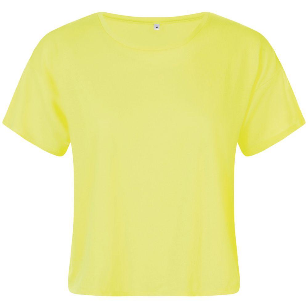 Футболка женская MAEVA, желтый неон