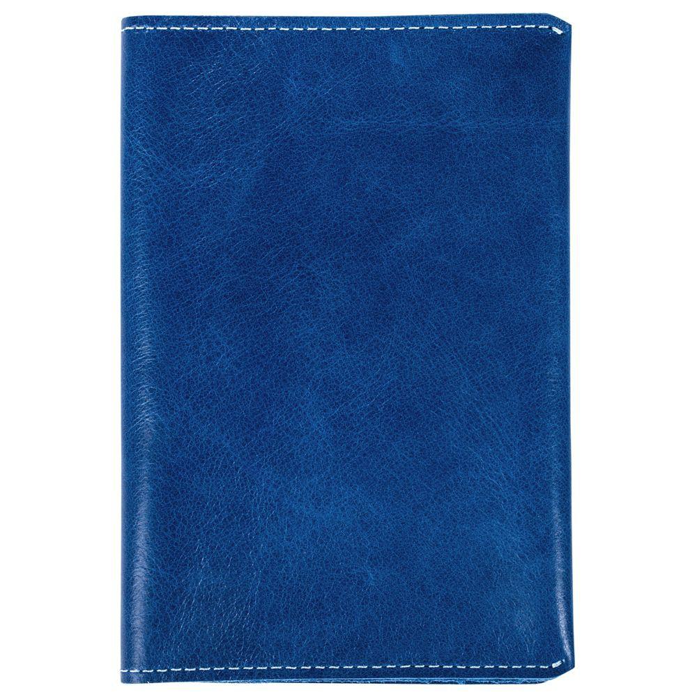 Обложка для паспорта Apache, светло-синяя